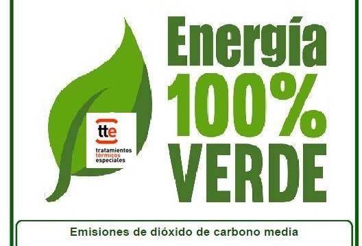 TTE  100% comprometida con el medio ambiente.